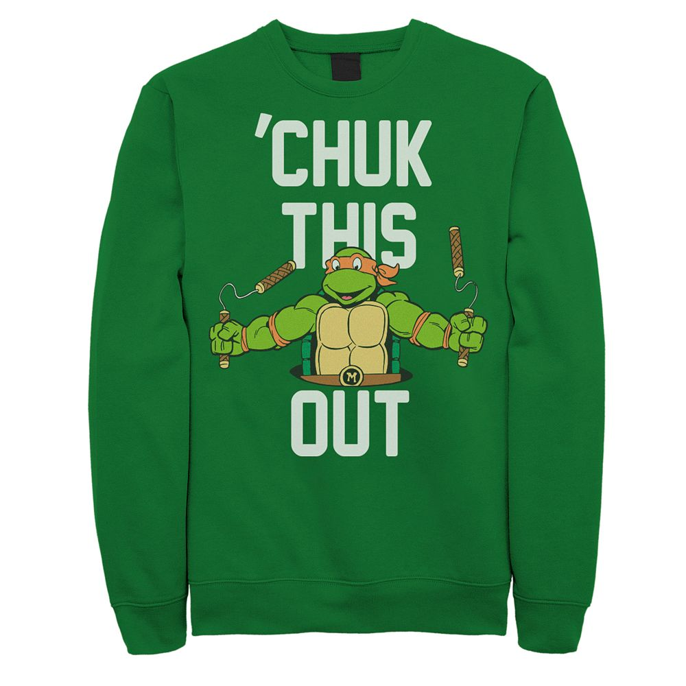 Men's Teenage Mutant Ninja Turtles 'Chuk This Pullover