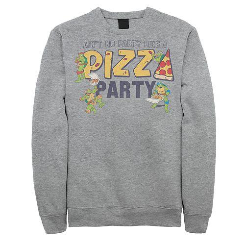 Men's Teenage Mutant Ninja Turtles Pizza Party Pullover
