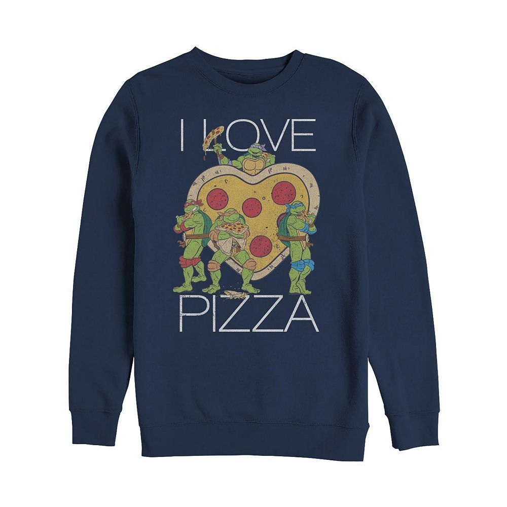 Men's Teenage Mutant Ninja Turtles Pizza Sweatshirt
