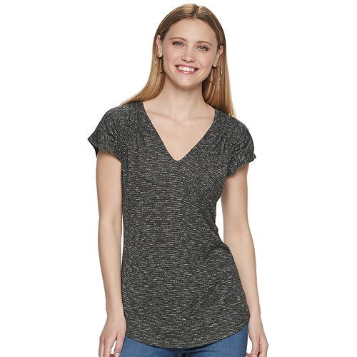 Women's Juicy Couture Shirred Shoulder Top