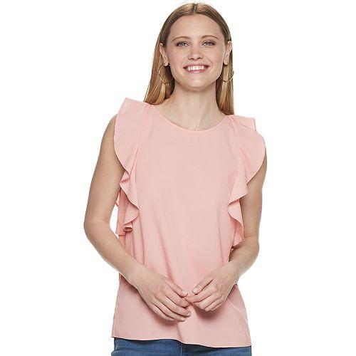 Women's Juicy Couture Ruffled Sleeve Tank Top