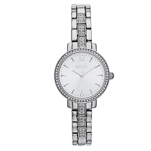 Relic by Fossil Women's Reagan Silver Tone Watch
