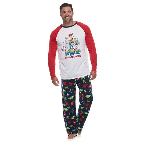 Disney / Pixar's Toy Story 4 Big & Tall Top & Bottoms Pajama Set by Jammies For Your Families