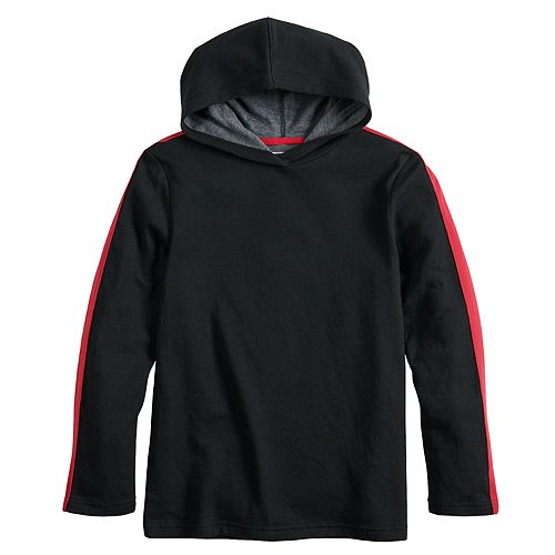 Boys 8-20 Urban Pipeline™ Side-Striped Hooded Tee