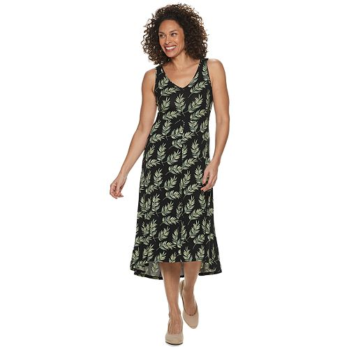 Women's Croft & Barrow® Sleeveless V-Neck Dress