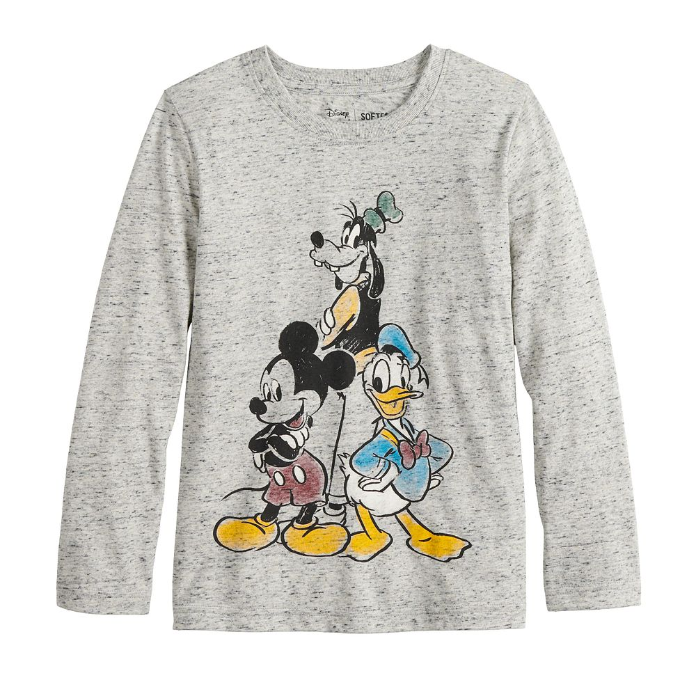 Boys 4-12 Disney's Micky Mouse Group Shot Graphic Tee by Jumping Beans®