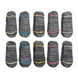 Women's Tek Gear® 10-Pack Marled Liner Socks