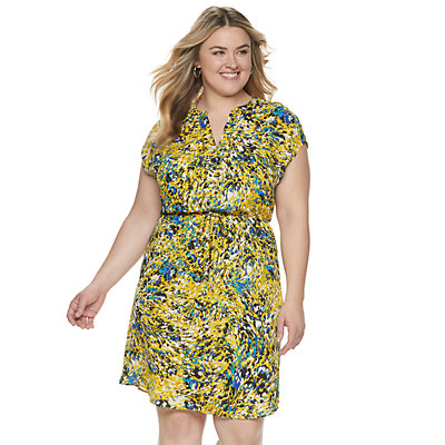 Plus Size Apt. 9® Dolman Dress