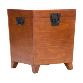 Pyramid Mission Trunk End Table