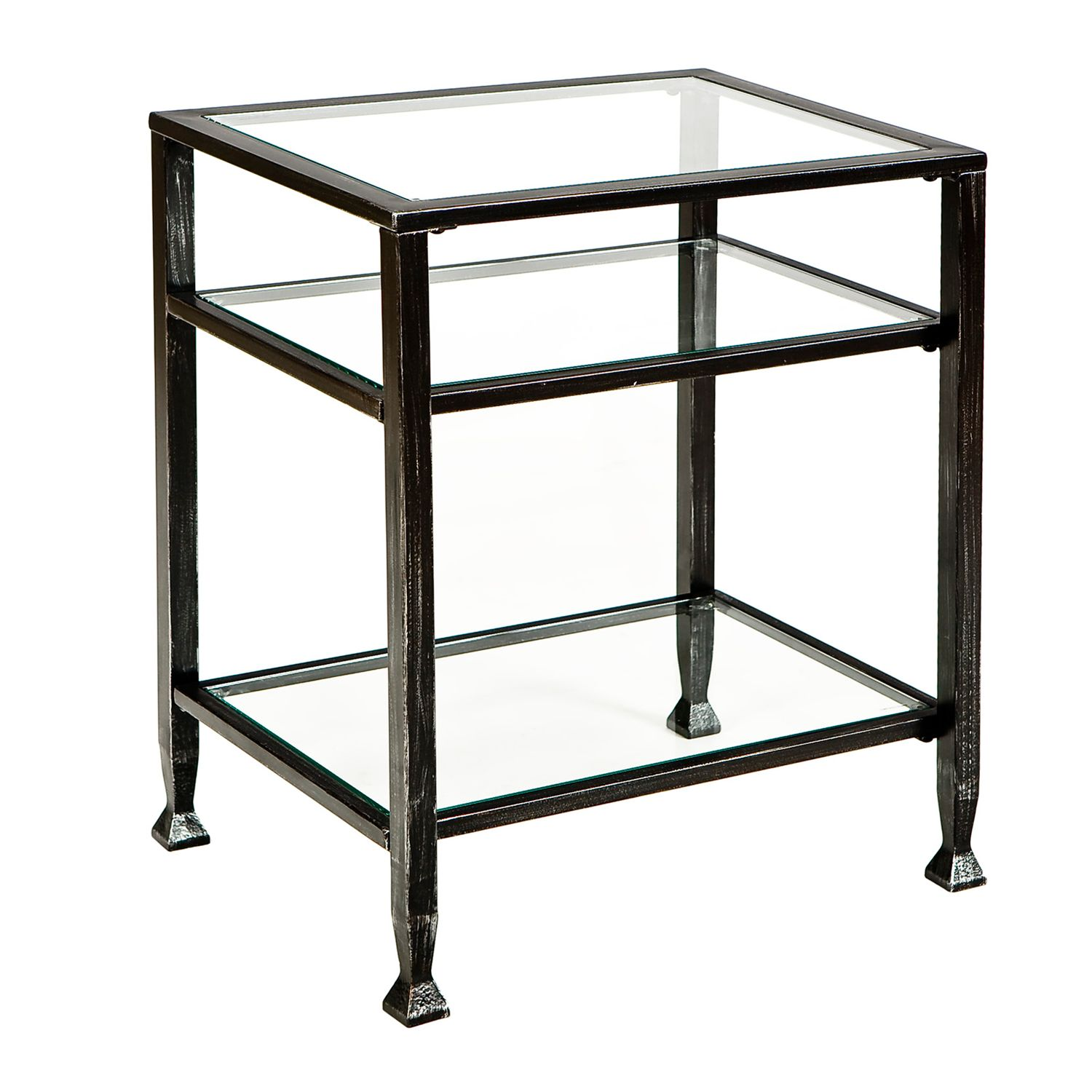 Delicieux Metal End Table