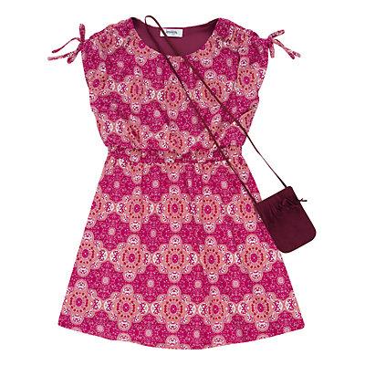 Girls 7-16 Speechless Printed Dress & Purse Set