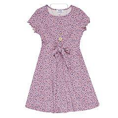 6c87b98801 Girls 7-16 Speechless Printed Knot Front Dress