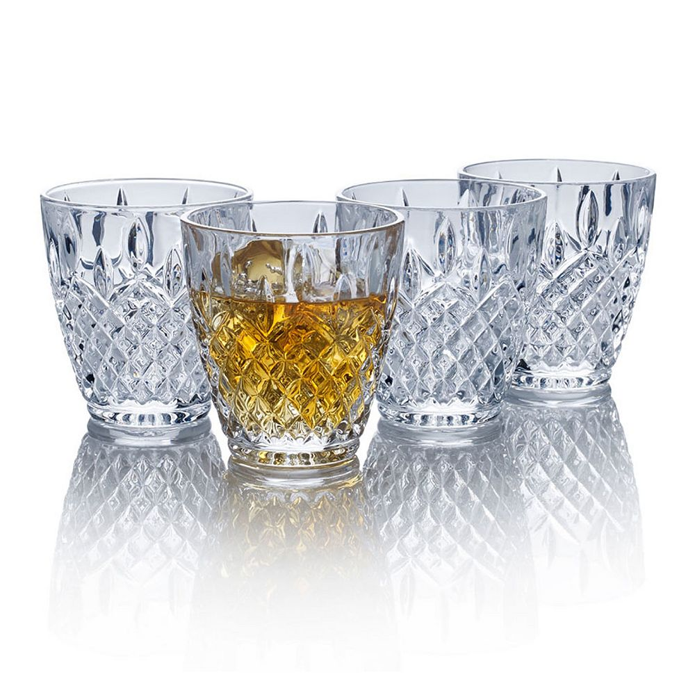 Mikasa Harding 4-pc. Double Old-Fashioned Glass Set