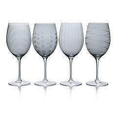 Mikasa Cheers Smoke 4-pc. Red Wine Glass Set
