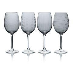 Mikasa Cheers Smoke 4-pc. White Wine Glass Set