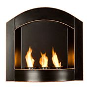 Arched Wall-Mount Gel Fireplace