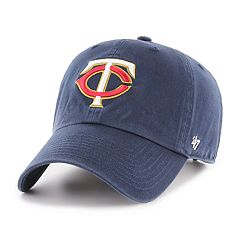 newest bdd2d eac99 47 Brand Minnesota Twins Clean-Up Baseball Cap