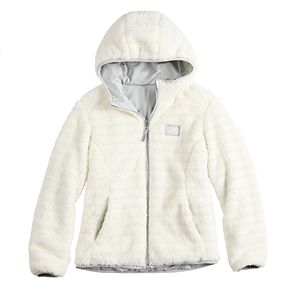 Girls 4-16 Zero Xposur Reversible Berber Jacket
