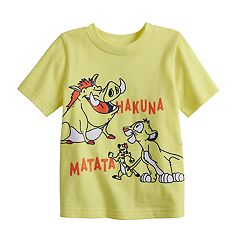 Disney's The Lion King Toddler Boy 'Hakuna Matata' Graphic Tee by Jumping Beans®
