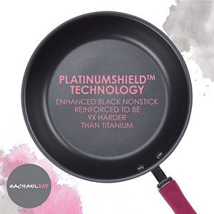 Rachael Ray Create Delicious Hard-Anodized Aluminum Nonstick Deep Skillet Twin Pack