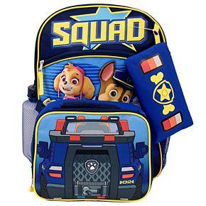 Kids Paw Patrol 5-piece Backpack Set