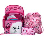Kids Secret Life of Pets 5-piece Backpack Set