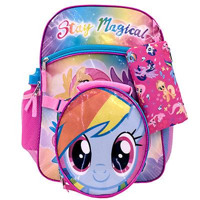 Kids My Little Pony 5-piece Backpack Set