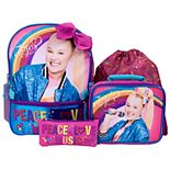 Kids JoJo Siwa 5-piece Backpack Set
