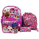 Girls' LOL Surprise 5-Piece Backpack Set