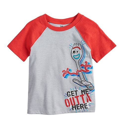e3a7e0b62 Disney / Pixar Toy Story 4 Toddler Boy Raglan Graphic Tee by ...