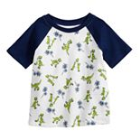 Disney / Pixar Toy Story 4 Baby Boy Rex Raglan Graphic Tee by Jumping Beans®