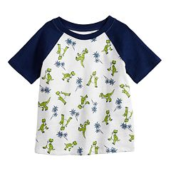 Disney / Pixar Toy Story 4 Baby Boy Rex Raglan Graphic Tee by Jumping Beans®