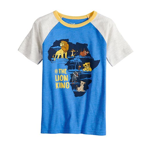 Boys 4-12 Sonoma Goods for Life™ Retro Lion King Silhouette Tee
