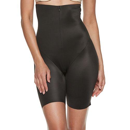 Naomi & Nicole Shapewear Women's Inside Magic Zip-on Hi Waist Thigh Slimmer 7959