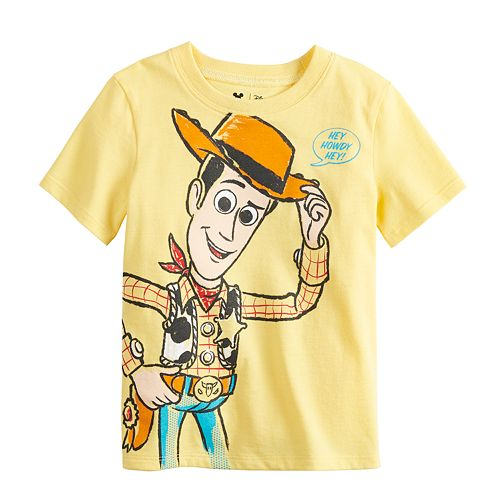 9cb984af8 Disney / Pixar Toy Story 4 Baby Boy Woody Graphic Tee by Jumping ...