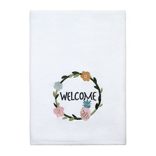 "Avanti Southern Bright ""Welcome"" Bath Towel"