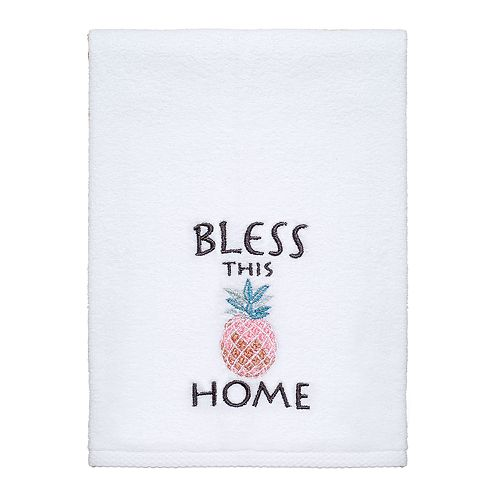 "Avanti Southern Bright ""Bless This Home"" Hand Towel"