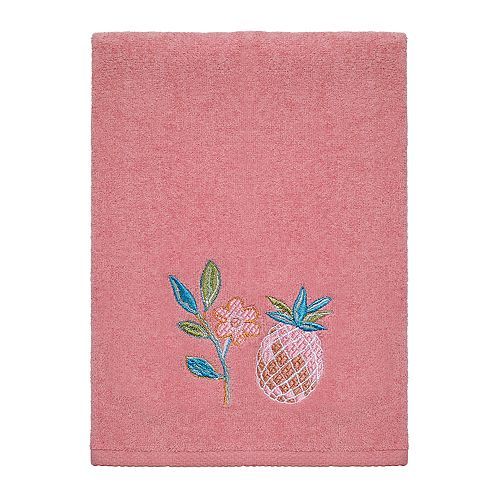 Avanti Southern Bright Pink Pineapple Hand Towel