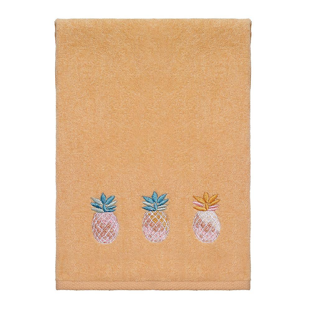 Avanti Southern Bright Orange Pineapple Hand Towel