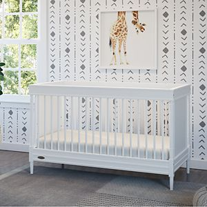 Storkcraft Graco Ashleigh 3-in-1 Convertible Crib