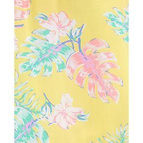 Toddler Girl OshKosh B'gosh® Floral Drop-Hem Dress