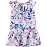 Toddler Girl OshKosh B'gosh® Floral Drop-Hem Dress