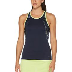 Women's Grand Slam Tropical Stripes Print Tennis Tank