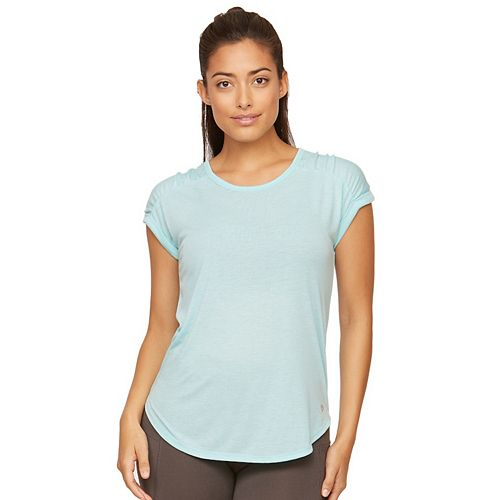 Women's Colosseum Gia Cuffed Sleeve Tee