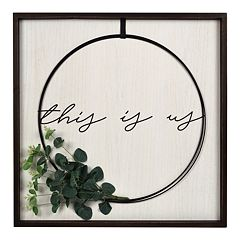New View Gifts 'This Is Us' Wire Wreath Wall Art