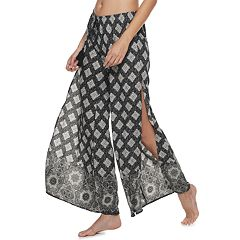 673e40c9ea Women's Apt. 9® Flyaway Cover-Up Pants. Riviera Black