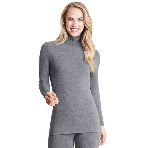 Women's Cuddl Duds Softwear with Stretch Long Sleeve Turtleneck