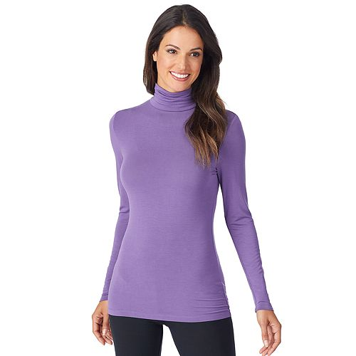 Women's Cuddl Duds® Softwear with Stretch Long Sleeve Turtleneck