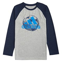Boys 4-7x adidas Raglan Sports Ball Graphic Tee