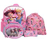 Kids Disney / Pixar Toy Story 4 5-piece Backpack Set
